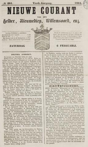 Nieuwe Courant van Den Helder 1864-02-06
