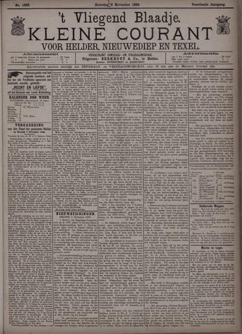 Vliegend blaadje : nieuws- en advertentiebode voor Den Helder 1886-11-06