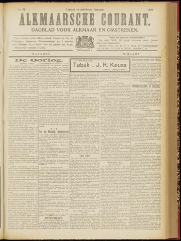 Alkmaarsche Courant 1916-03-27