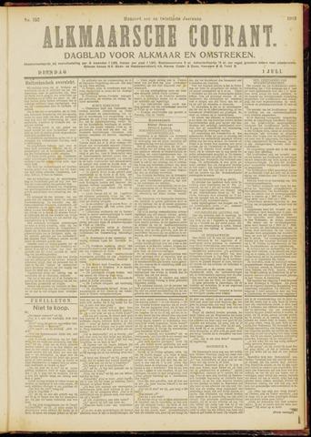 Alkmaarsche Courant 1919-07-01