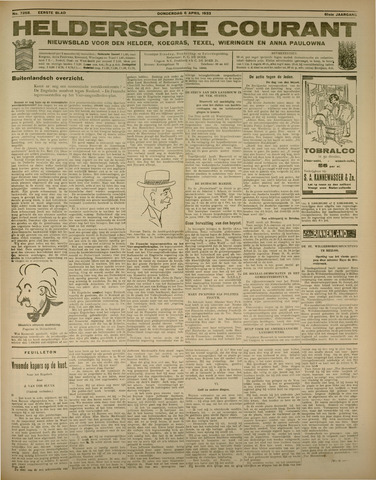 Heldersche Courant 1933-04-06