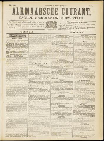 Alkmaarsche Courant 1908-10-14