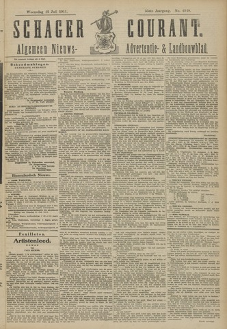 Schager Courant 1911-07-12
