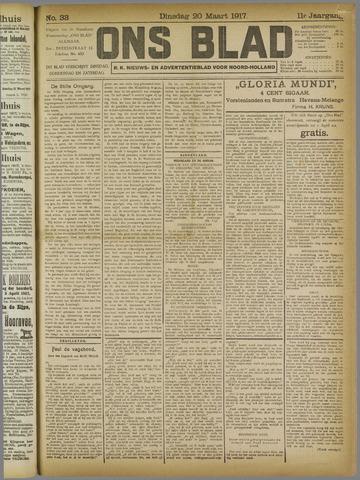 Ons Blad : katholiek nieuwsblad voor N-H 1917-03-20