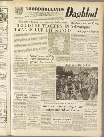 Noordhollands Dagblad : dagblad voor Alkmaar en omgeving 1960-07-19
