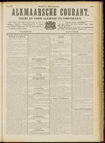 Alkmaarsche Courant 1909-10-16