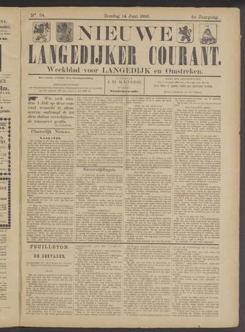 Nieuwe Langedijker Courant 1896-06-14