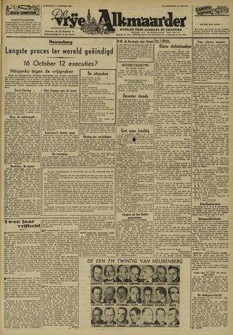 De Vrije Alkmaarder 1946-10-02