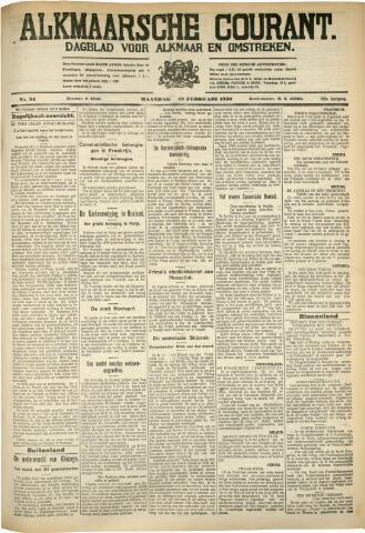 Alkmaarsche Courant 1930-02-10