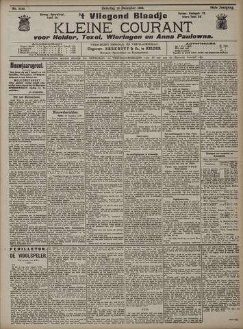 Vliegend blaadje : nieuws- en advertentiebode voor Den Helder 1906-12-15