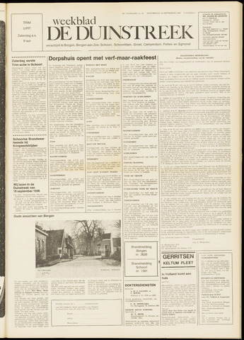 De Duinstreek 1969-09-18