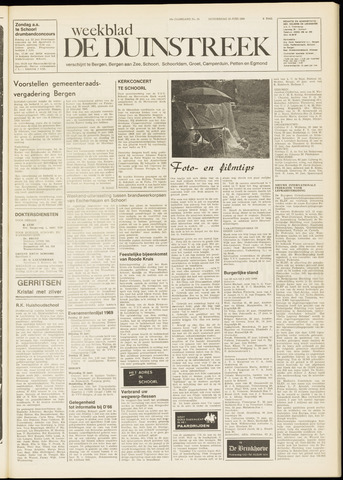 De Duinstreek 1969-06-19