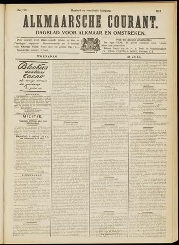 Alkmaarsche Courant 1912-07-31