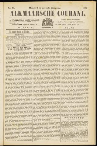 Alkmaarsche Courant 1905-06-07