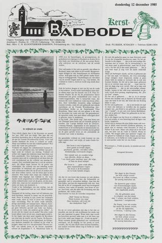 Badbode voor Callantsoog 1985-12-12