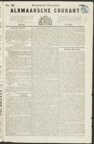 Alkmaarsche Courant 1868-04-19