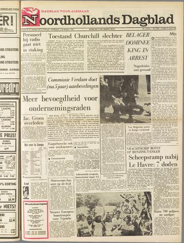 Noordhollands Dagblad : dagblad voor Alkmaar en omgeving 1965-01-19