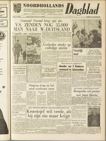 Noordhollands Dagblad : dagblad voor Alkmaar en omgeving 1961-09-09