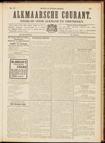 Alkmaarsche Courant 1911-04-19