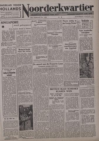 Dagblad voor Hollands Noorderkwartier 1942-01-08