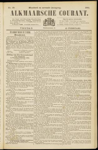 Alkmaarsche Courant 1905-02-10