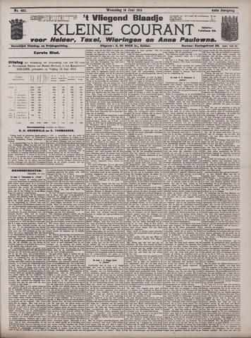 Vliegend blaadje : nieuws- en advertentiebode voor Den Helder 1913-06-18