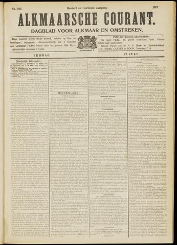 Alkmaarsche Courant 1912-07-12