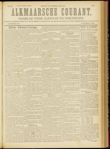 Alkmaarsche Courant 1918-02-09