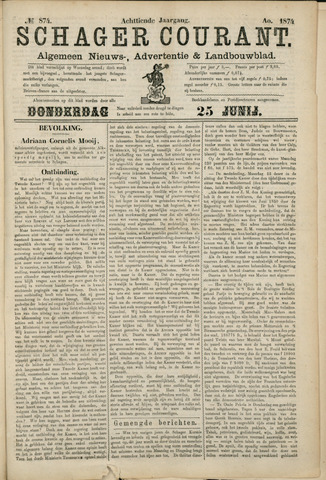 Schager Courant 1874-06-25