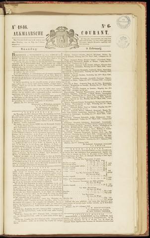 Alkmaarsche Courant 1846-02-09