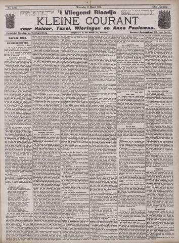 Vliegend blaadje : nieuws- en advertentiebode voor Den Helder 1914-03-11