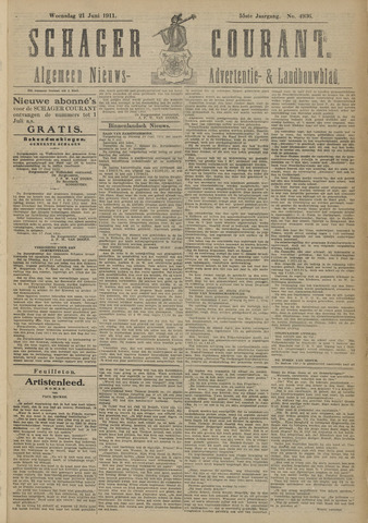 Schager Courant 1911-06-21