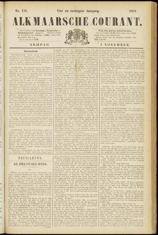 Alkmaarsche Courant 1882-11-03