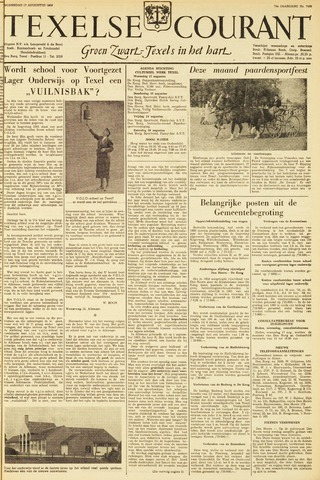 Texelsche Courant 1960-08-17