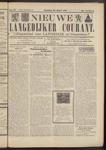 Nieuwe Langedijker Courant 1925-03-28