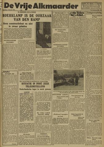 De Vrije Alkmaarder 1947-02-01