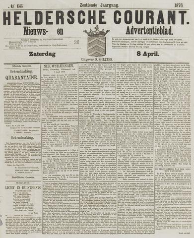 Heldersche Courant 1876-04-08