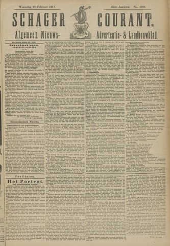 Schager Courant 1911-02-22