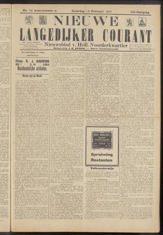 Nieuwe Langedijker Courant 1927-02-26