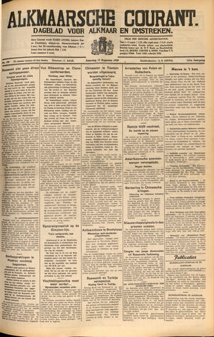 Alkmaarsche Courant 1939-08-12