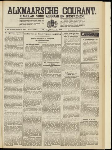 Alkmaarsche Courant 1937-12-27