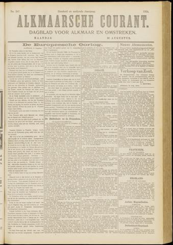 Alkmaarsche Courant 1914-08-10