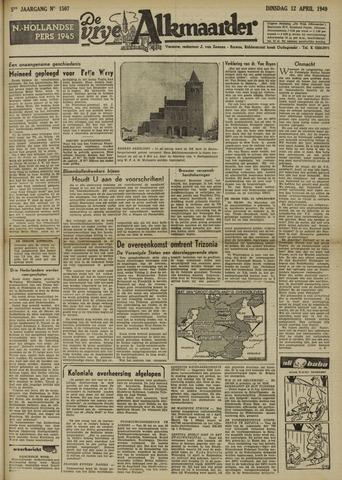 De Vrije Alkmaarder 1949-04-12