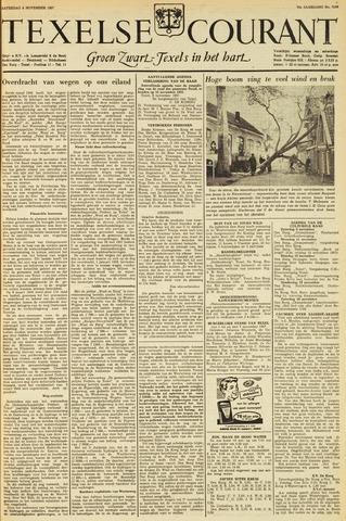 Texelsche Courant 1957-11-09