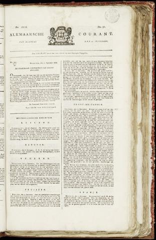 Alkmaarsche Courant 1818-09-21