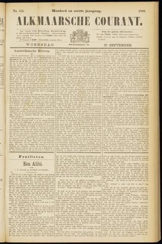 Alkmaarsche Courant 1899-09-27