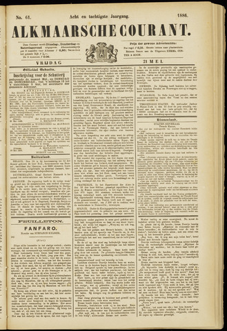 Alkmaarsche Courant 1886-05-21