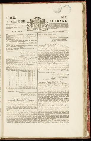 Alkmaarsche Courant 1847-12-20