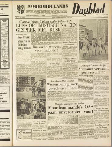 Noordhollands Dagblad : dagblad voor Alkmaar en omgeving 1962-05-08