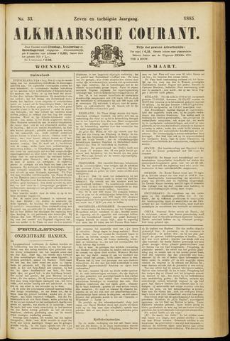Alkmaarsche Courant 1885-03-18